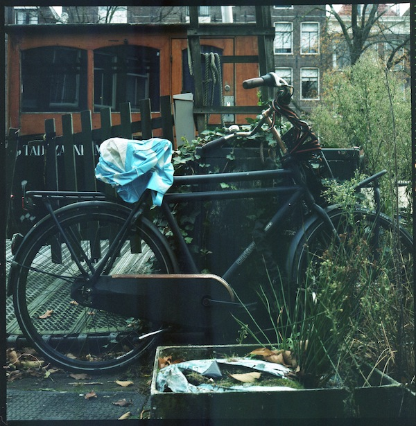 photo of bicycle in amsterdam